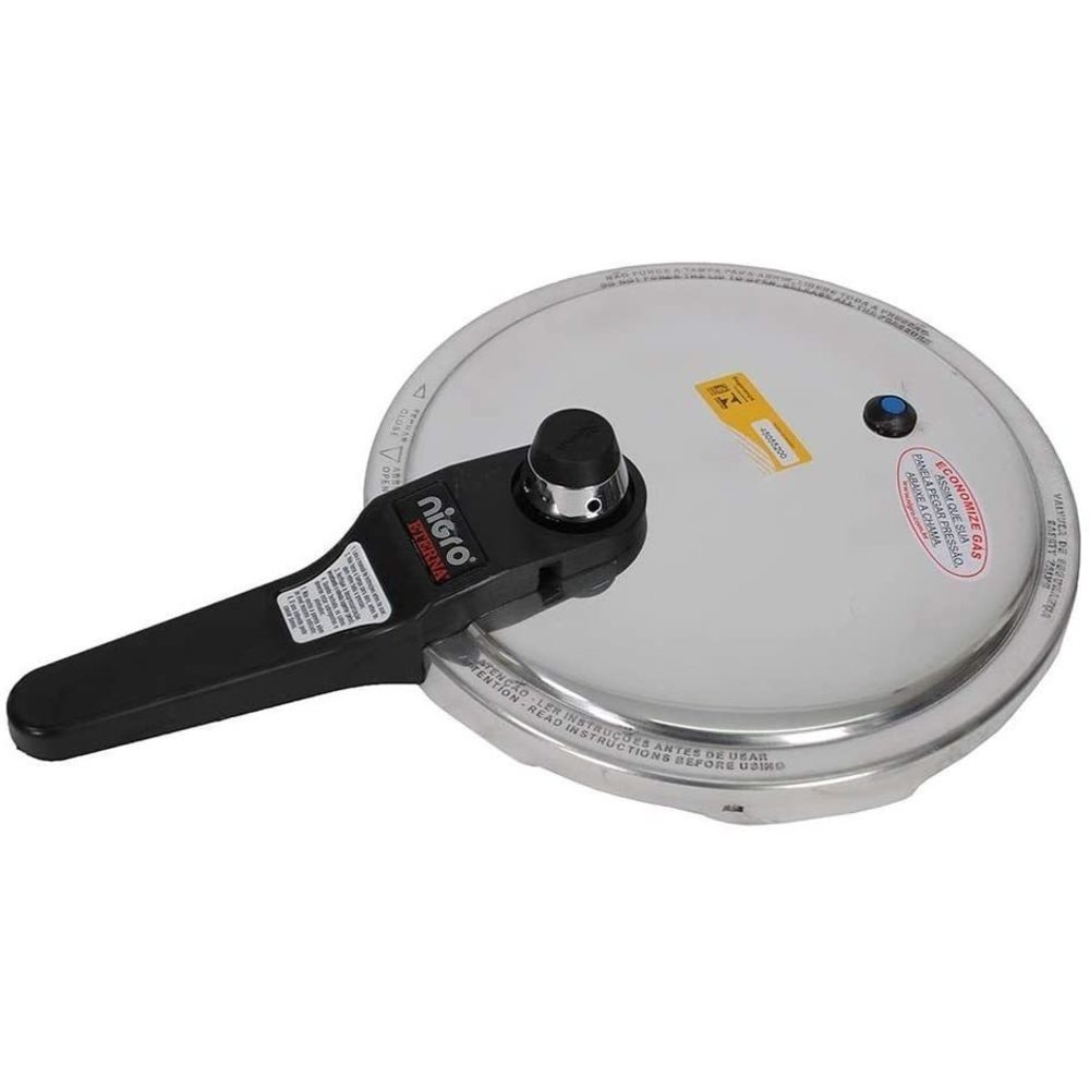 Panela de Pressão Eterna Maquina de Cozinhar Polida 6 Litros