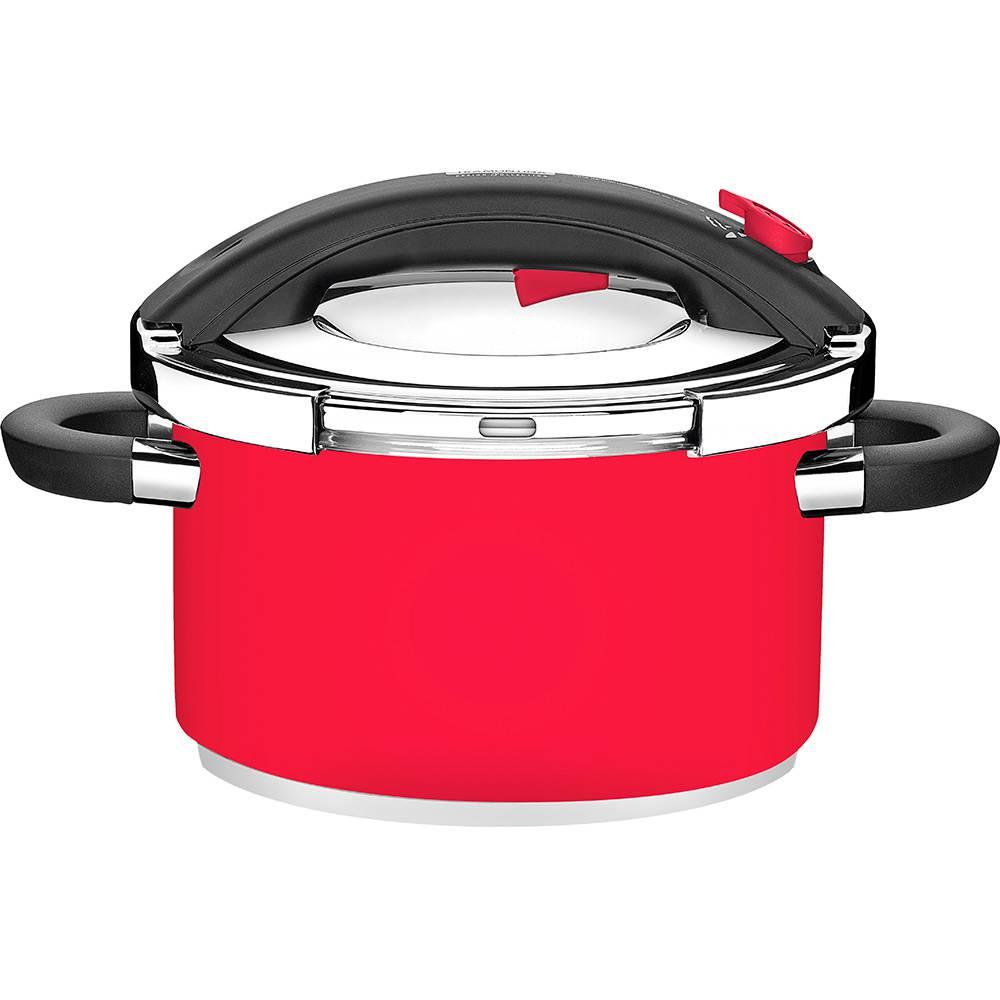 Panela de Pressão 6 Litros Presto Vermelha Tramontina