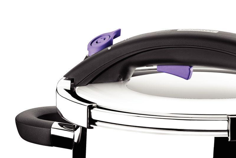 Panela de Pressão Tramontina para Cozinhas Moderna 6 Litros Inox