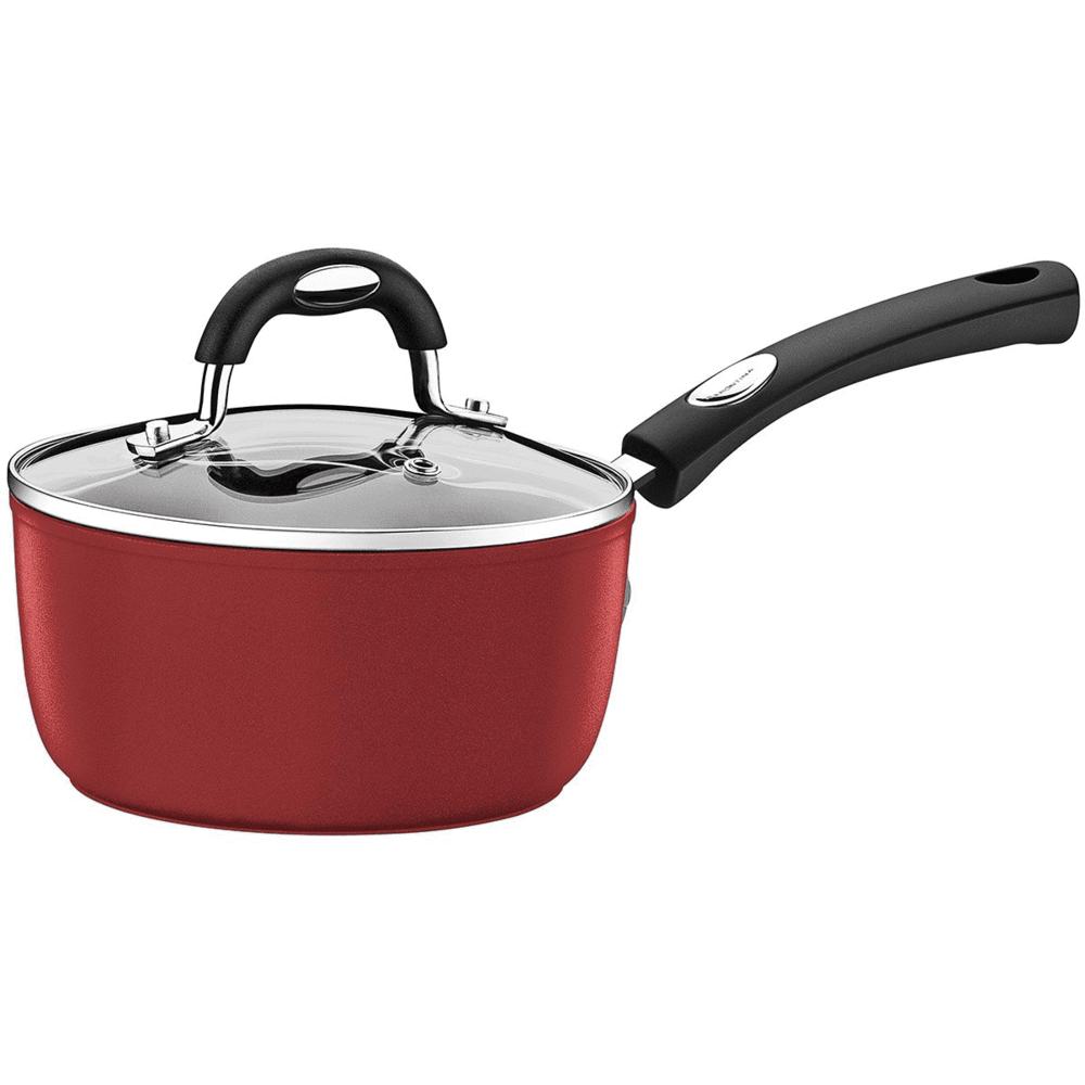 Panela Tramontina Avulsa para Cozinhas Moderna Vermelha 20cm