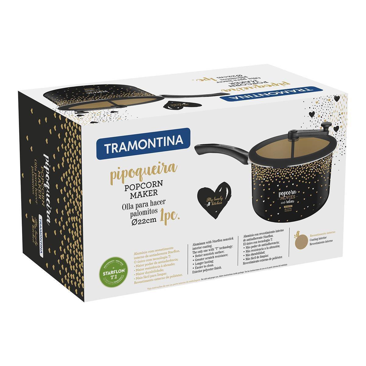 Pipoqueira Tramontina Antiaderente My Lovely Kitchen 22Cm
