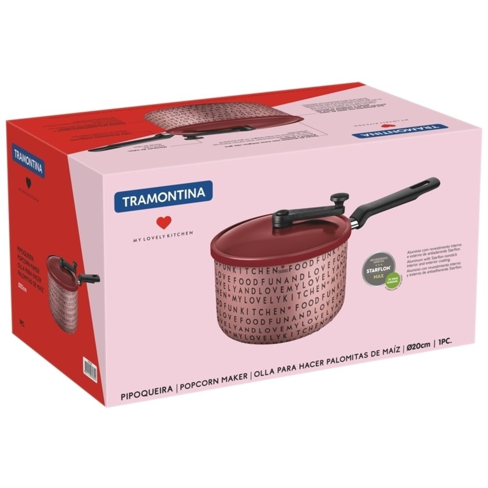 Pipoqueira My Love Kitchen 20cm Antiaderente Tramontina