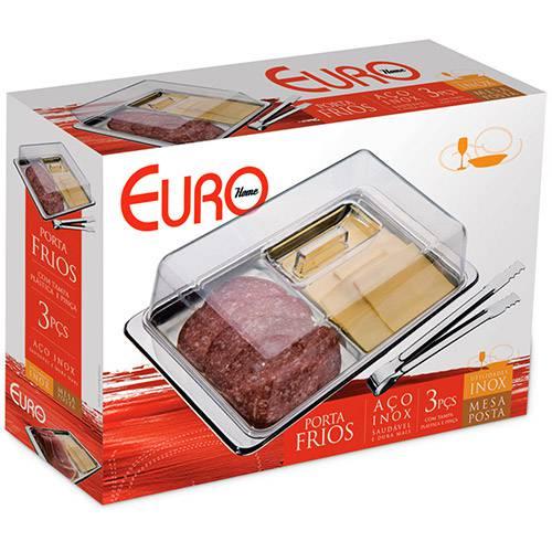 Porta Frios em Inox 3 Peças Euro