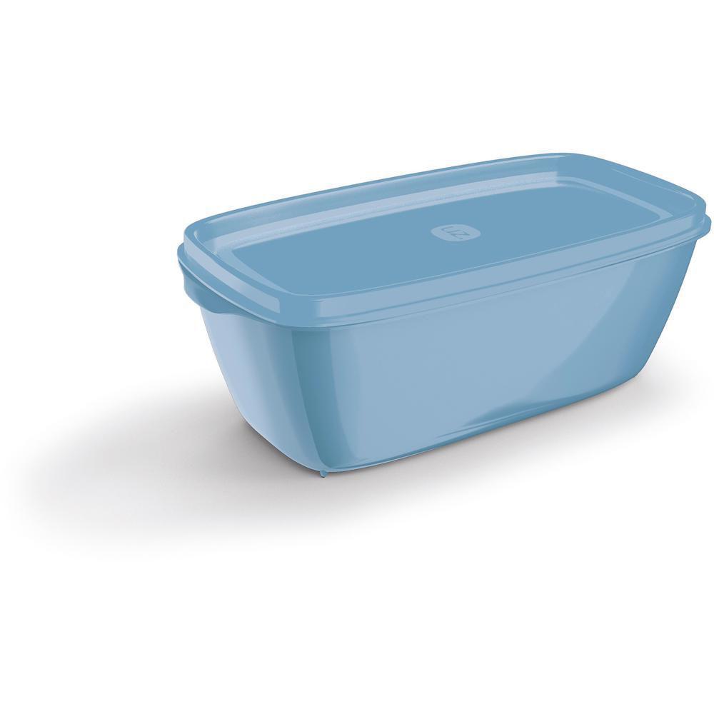 Pote Color 1,5 Litros em Polipropileno Azul UZ