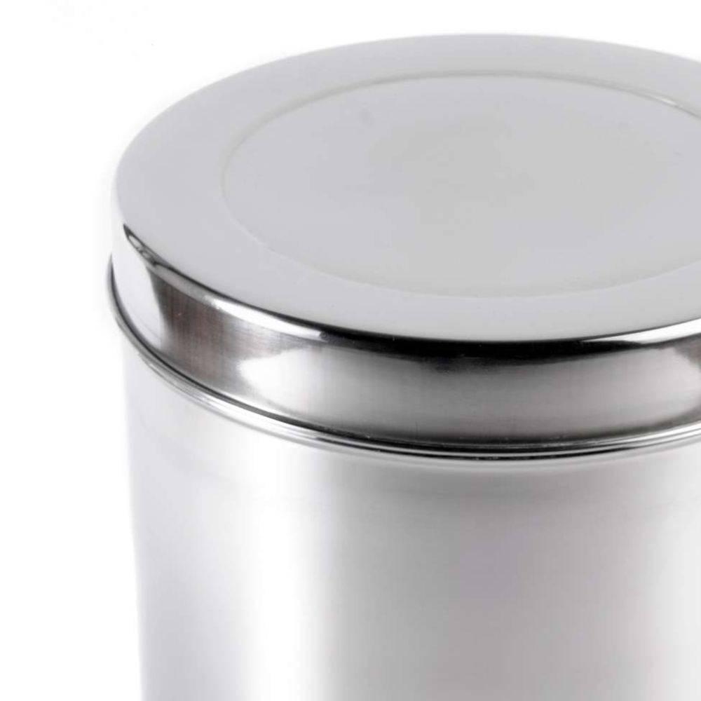 Pote Com Tampa Aço-inox 27cm Gormet Inox Gourme Mix