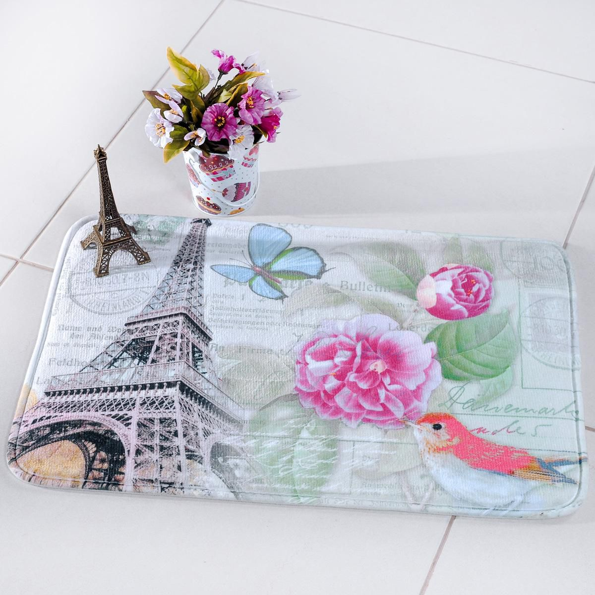 Tapete Digital Confort 40x60 cm Floral Paris Panosul