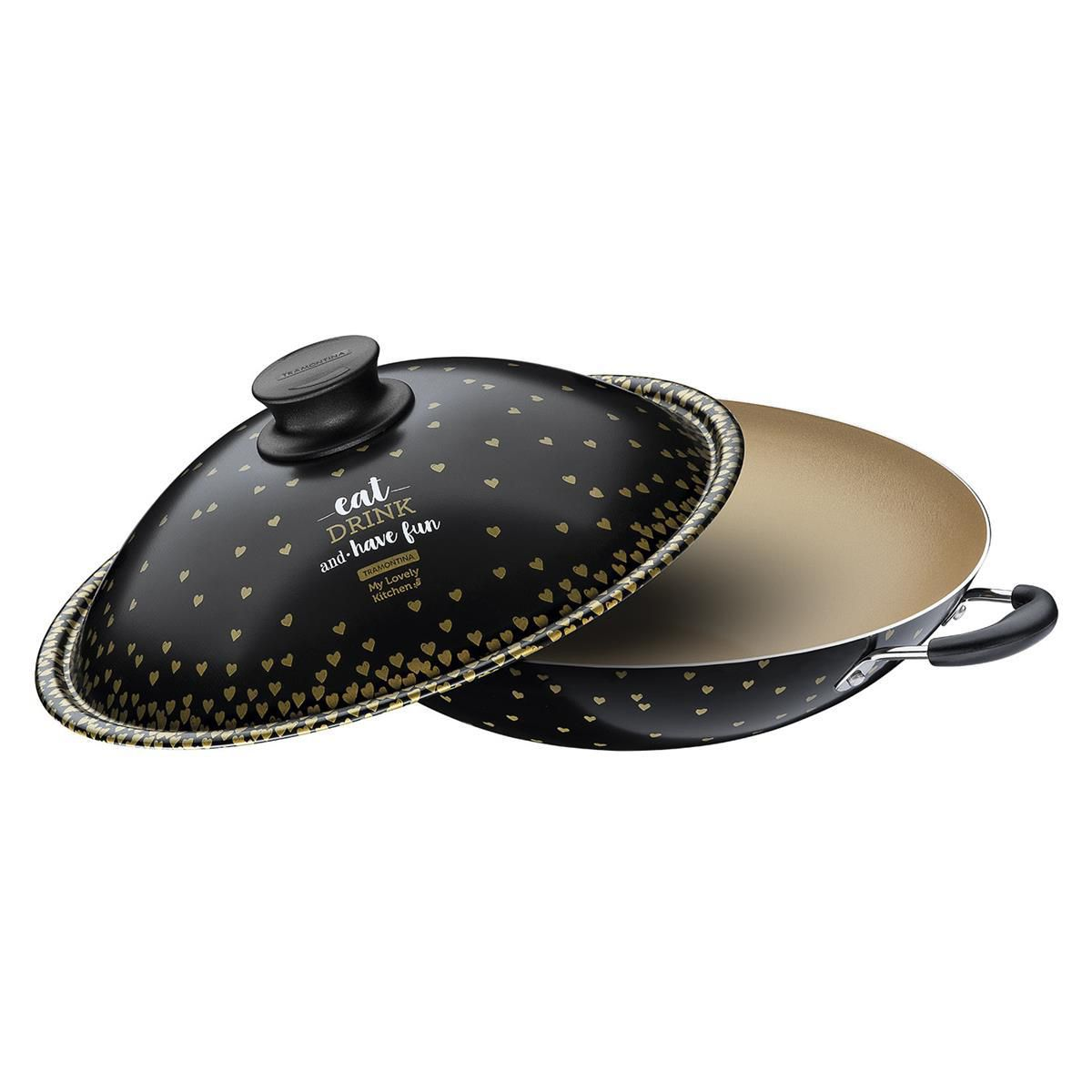 Wok Antiaderente My Lovely Kitchen 32Cm Tramontina