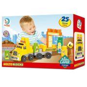 Blocos de Montar Construtor Baby Land 25 Peças