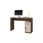 Escrivaninha Luminus 1 Porta 1 Gaveta Mavaular Canion Soft/Off white