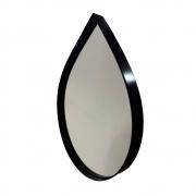 Espelho Decorativo Gota com Moldura Preta