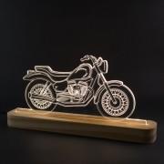 Luminária Decorativa Motocicleta