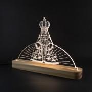 Luminária Decorativa Nossa Senhora Aparecida