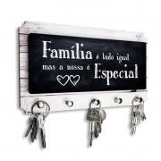 Porta Chaves Família é Tudo Igual mas a Nossa é Especial