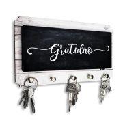 Porta Chaves Gratidão