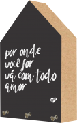 Porta Chaves Toten Decorativo Por Onde For