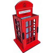 Porta Controle e Objetos Cabine Telefônica Londres