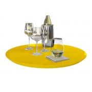 Prato Giratório Amarelo 50 cm
