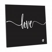 Quadro Decorativo 20x20 cm Love