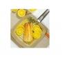 Frigideira Grill Quadrada Max Chef Fratelli com Revestimento Cerâmico 24 cm