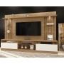 Home Estante Tv até 58 Polegadas Amsterdã Mavaular Damasco Soft/Off White
