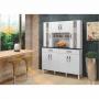 Armário de Cozinha Milão 8 Portas Arte Móveis