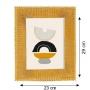Porta Retrato Dourado em Poliresina 23x29 cm