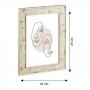 Porta Retrato Estilo Madrepérola 20x25 cm
