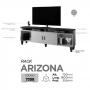 Rack para TV até 65 Polegadas Arizona Mavaular Off White/Mel