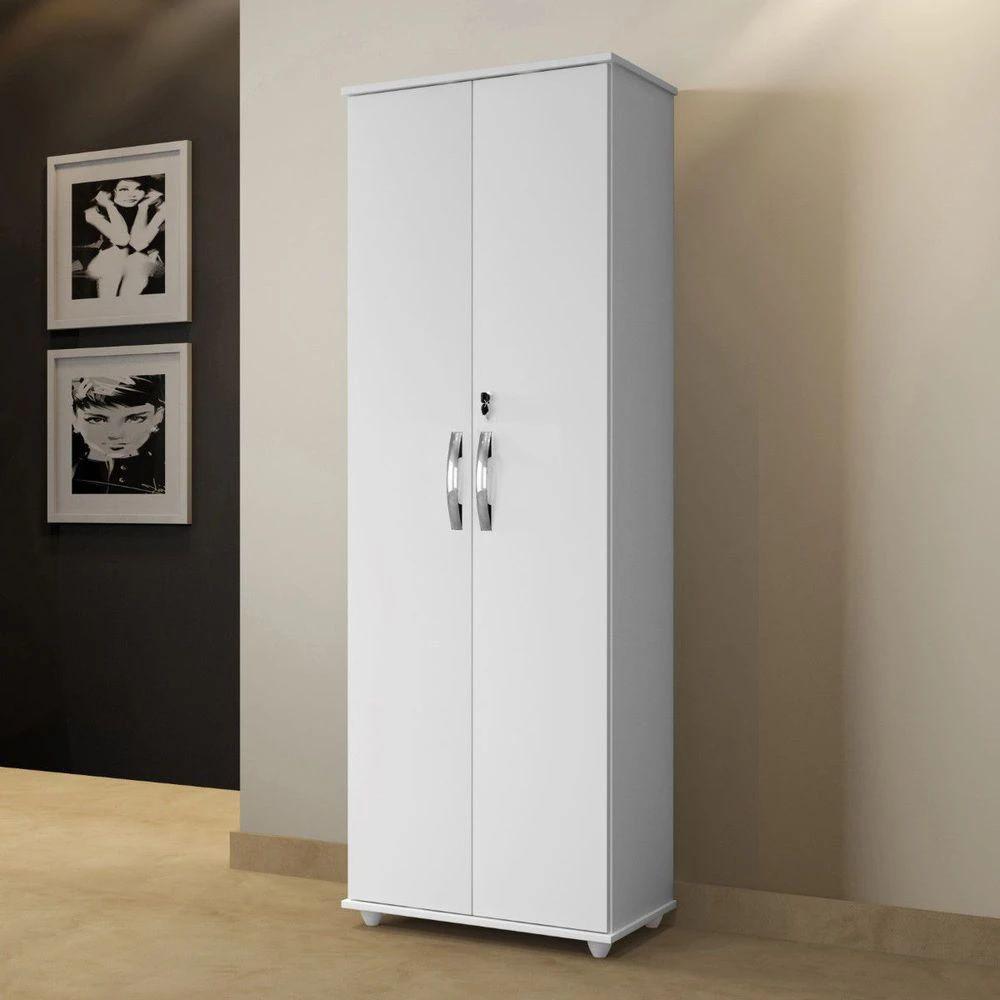 Armário Multiuso 2 Portas Ipanema Arte Móveis Branco