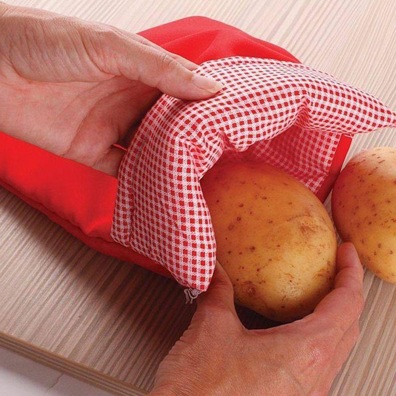 Bolsa para Cozinhar no Microondas