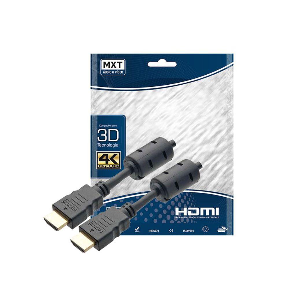 Cabo HDMI com Filtro 2.0 4K Ultra HD 1,8 metro