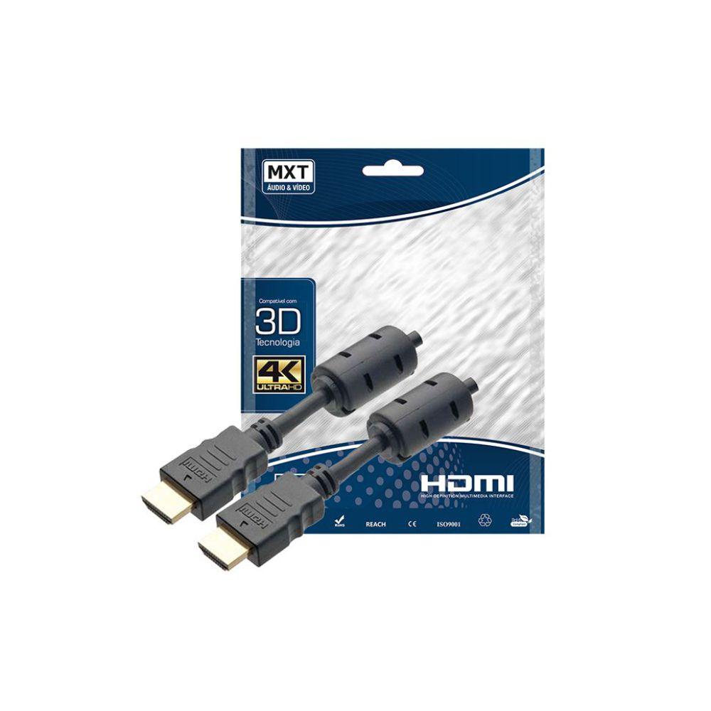 Cabo HDMI com Filtro 2.0 4K Ultra HD 3 metros