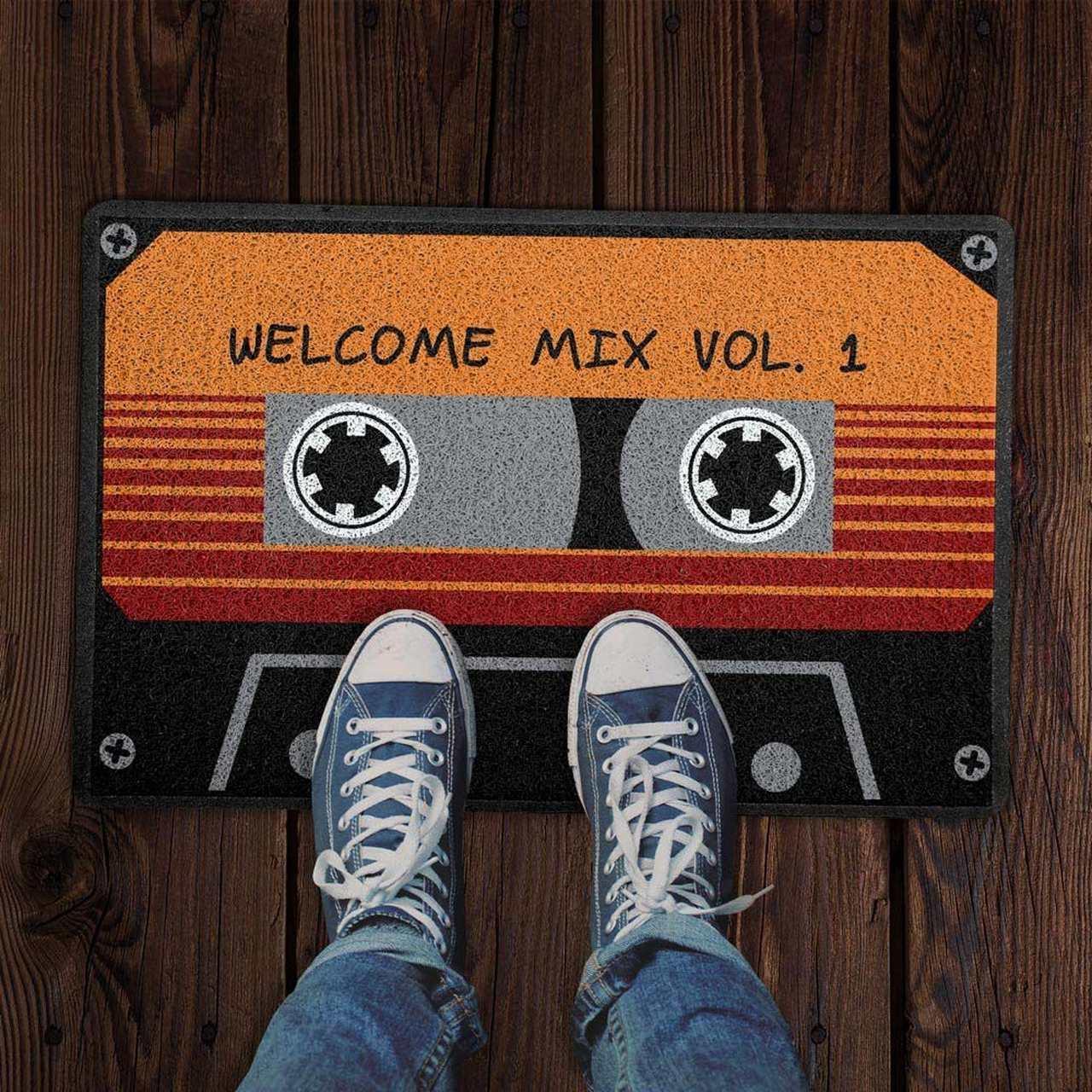 Capacho Guardiões da Galáxia Welcome Mix Vol. 1 60x40 cm