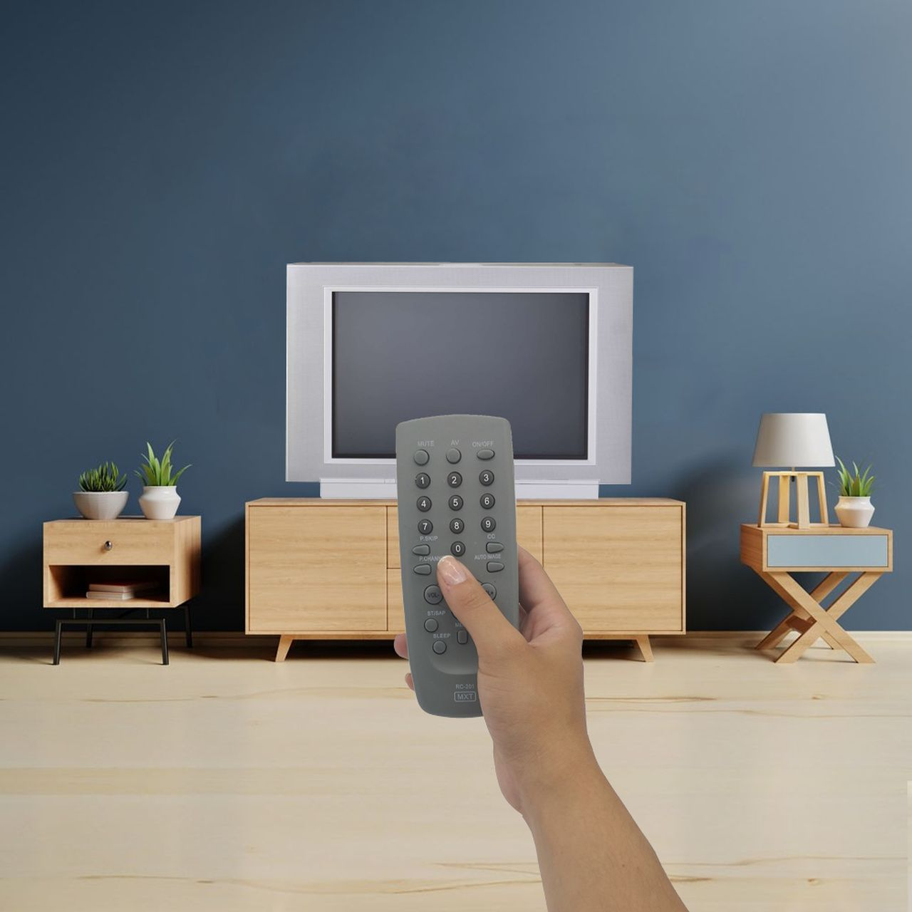 Controle Remoto para TV de Tubo CCE Cyber