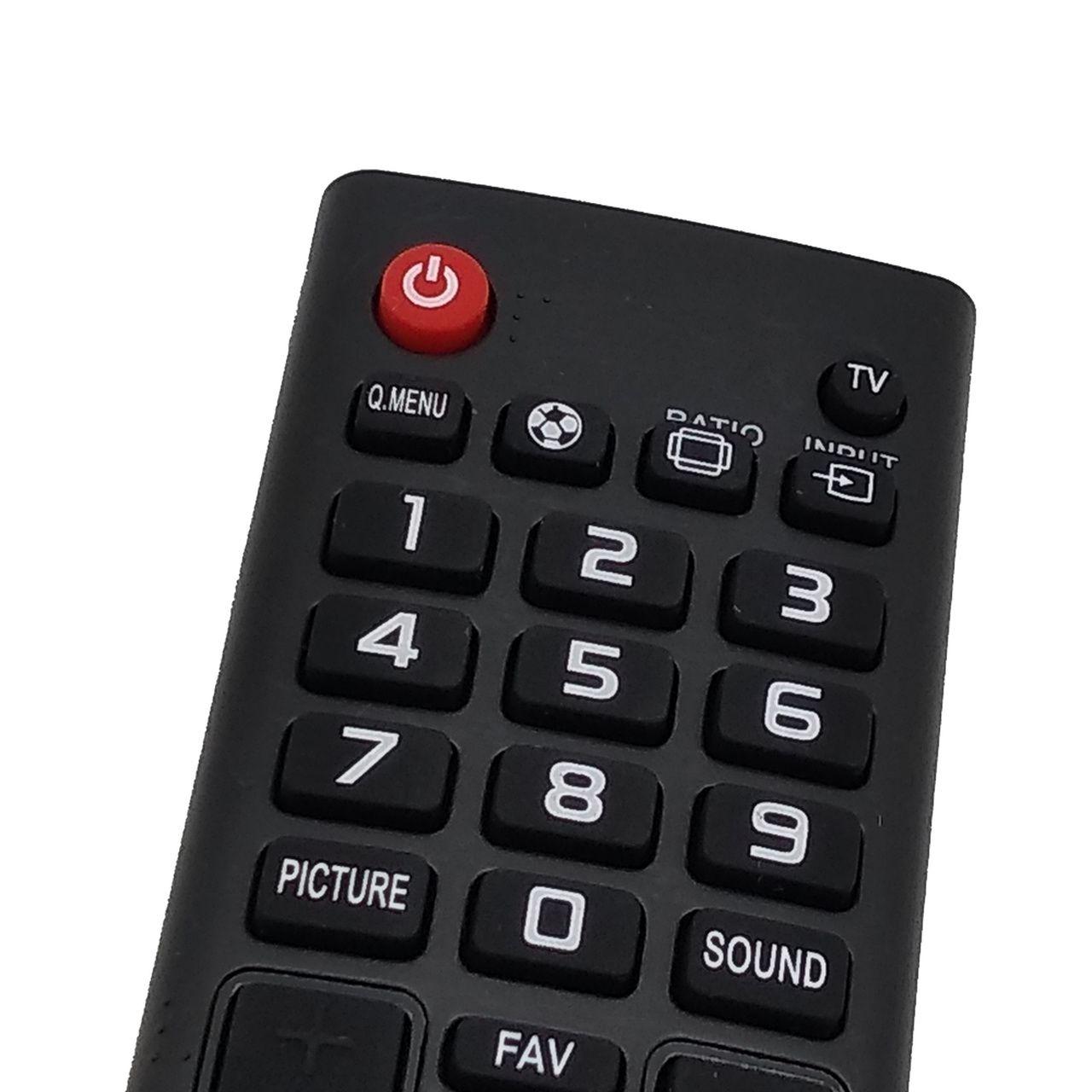 Controle Remoto para Todos os Modelos de TV LG LED Smart 3D