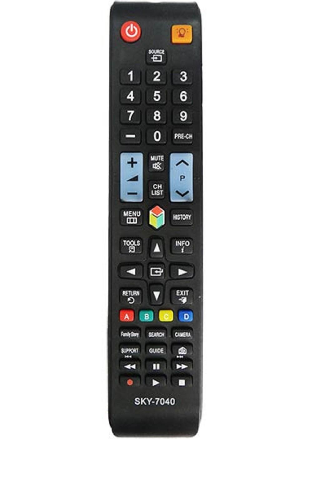 Controle Remoto para TV Samsung Smart LCD LED Função 3D