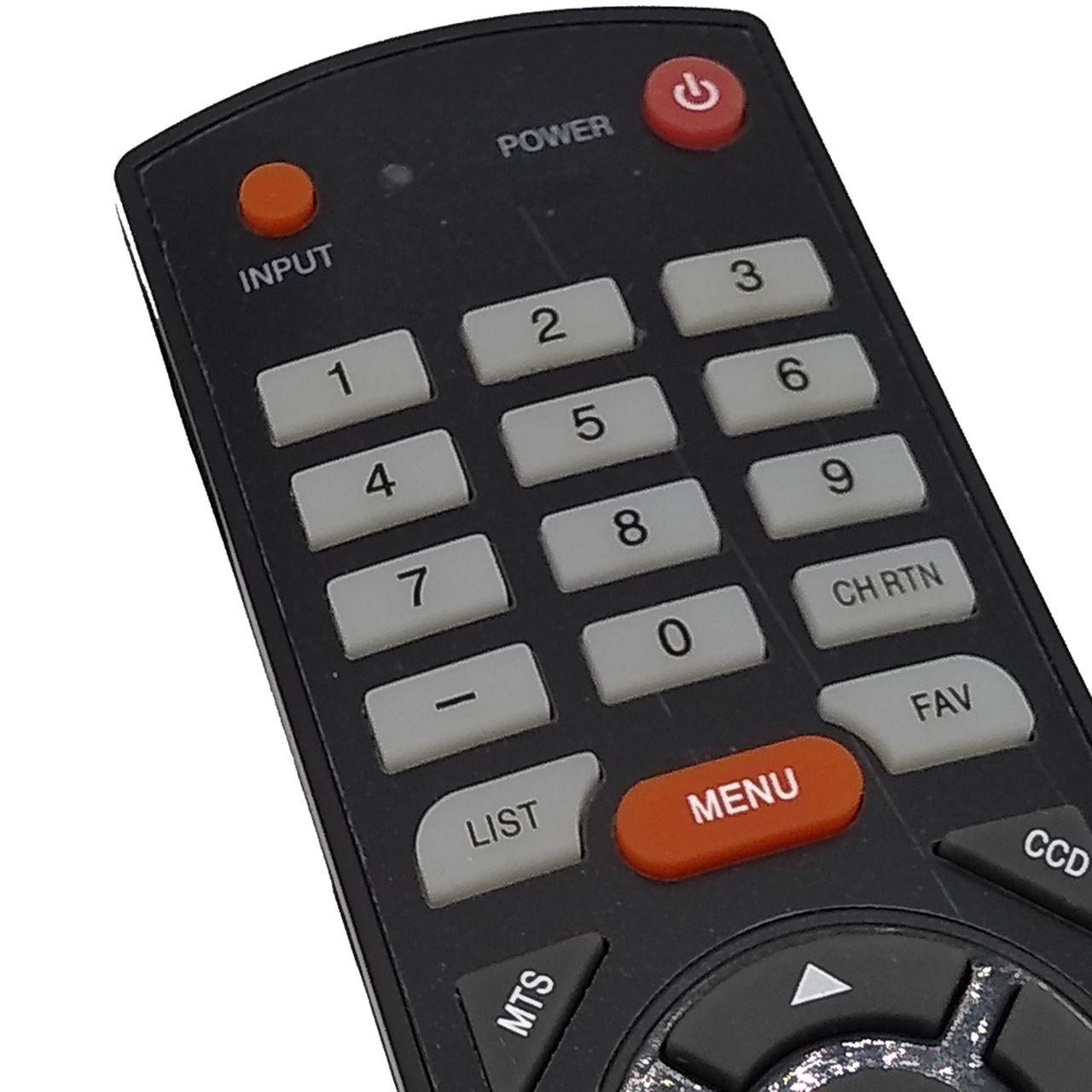 Controle Remoto para TV Semp Toshiba LCD LED