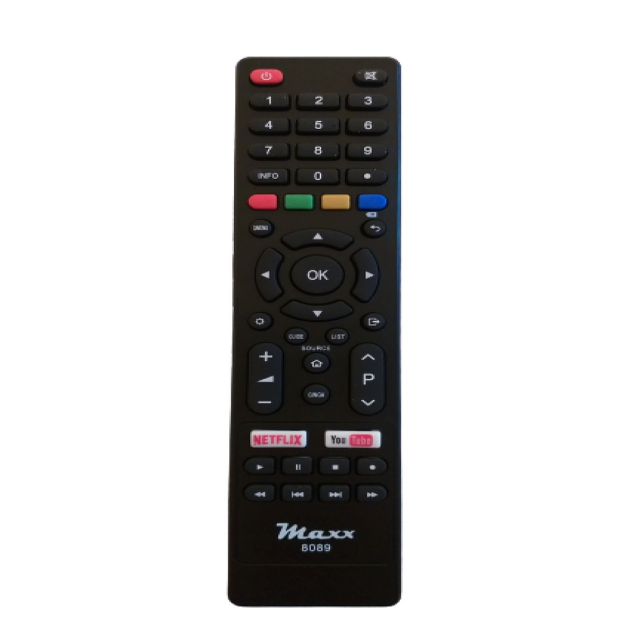 Controle Remoto para TV Smart Philco 4K LED Função Netflix e Youtube