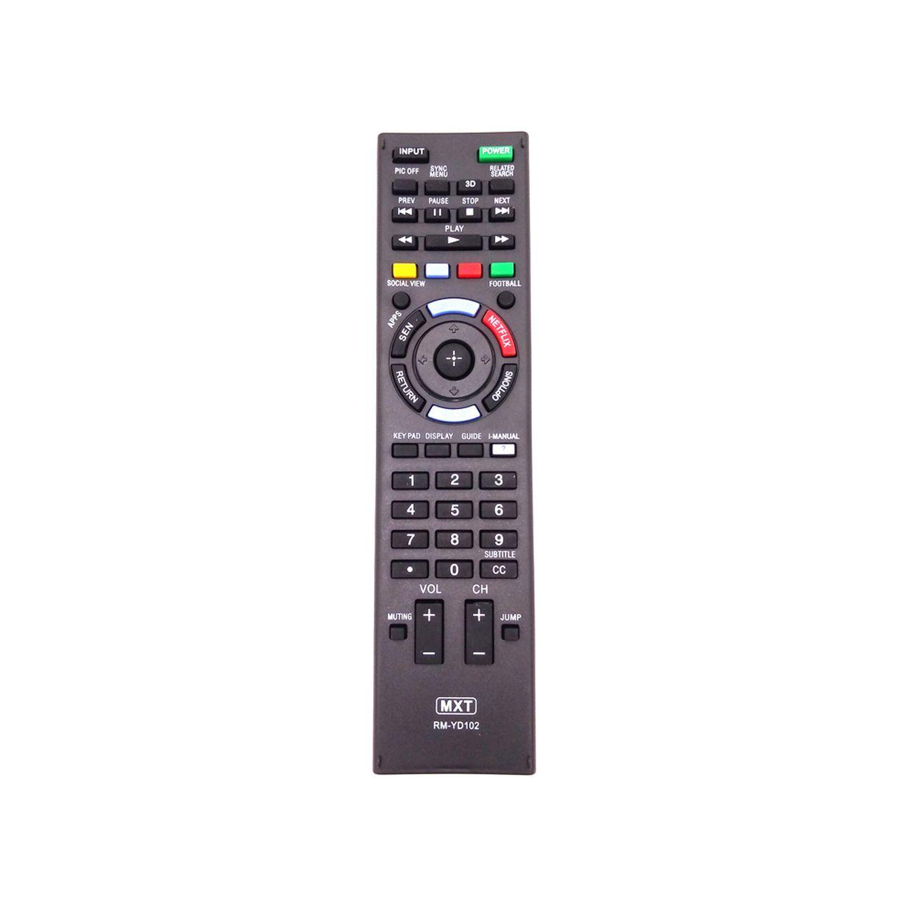 Controle Remoto para TV Sony Bravia SMART