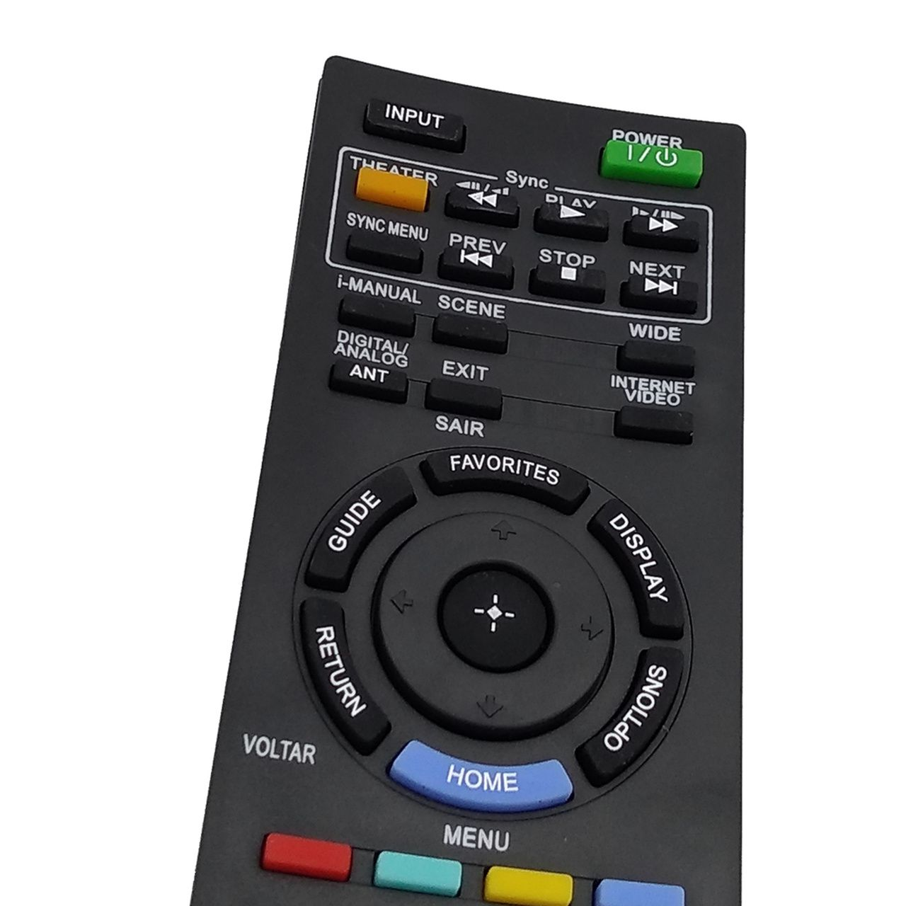 Controle Remoto para TV Sony LCD