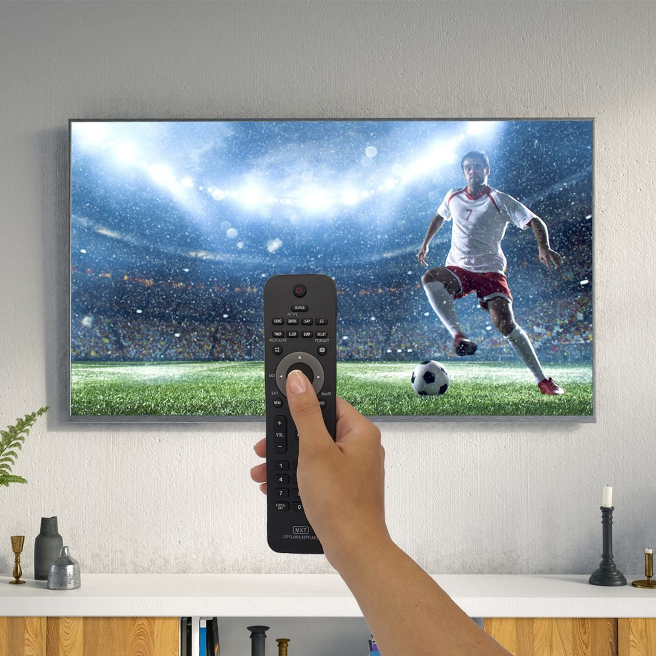 Controle Remoto para TV Philips LCD LED