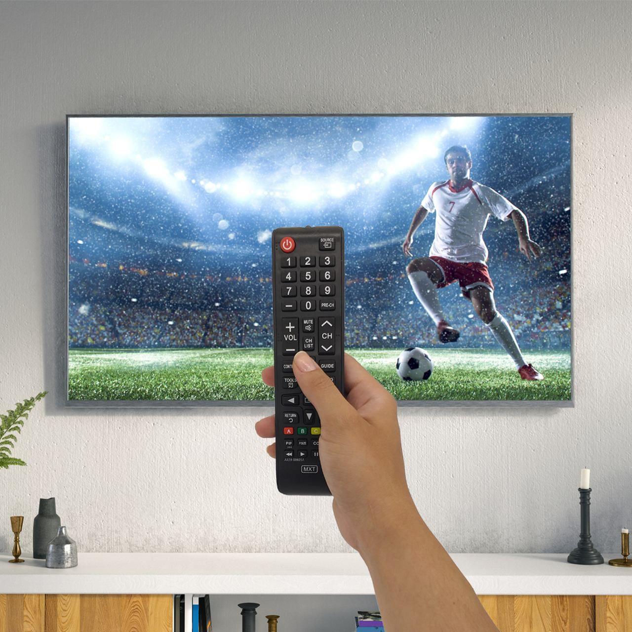Controle Remoto para Todos os Modelos de TV Samsung LED