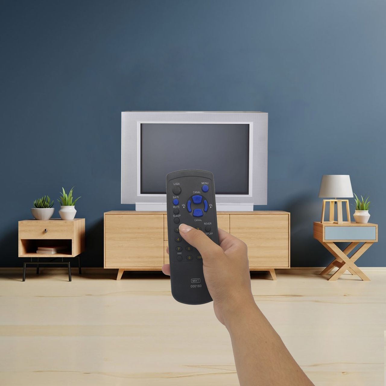 Controle Remoto para TV de Tubo Sharp