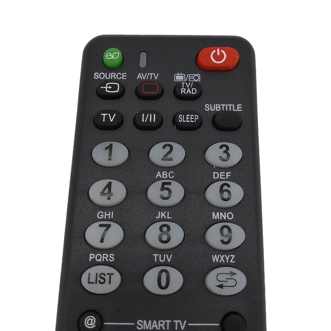 Controle Remoto Universal para TV LG LCD LED Smart