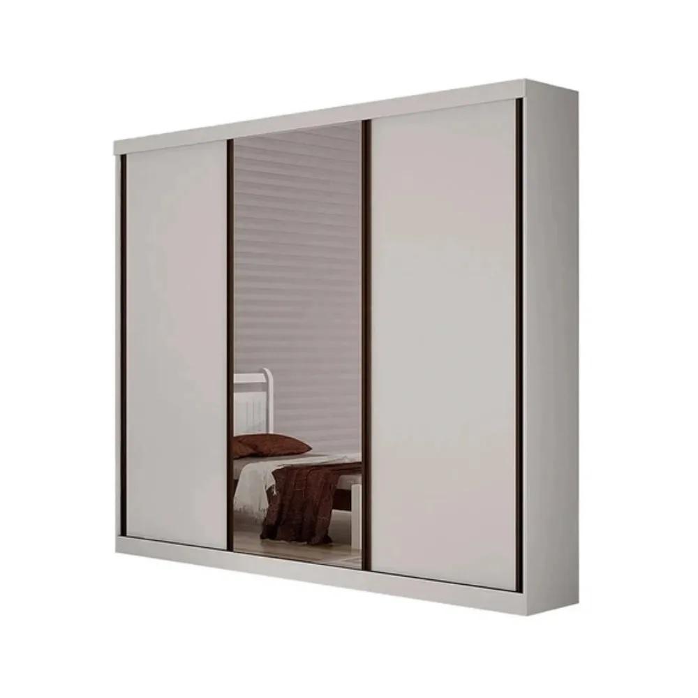 Guarda-Roupa Petrópolis 3 Portas 1 Espelho Móveis Valverde