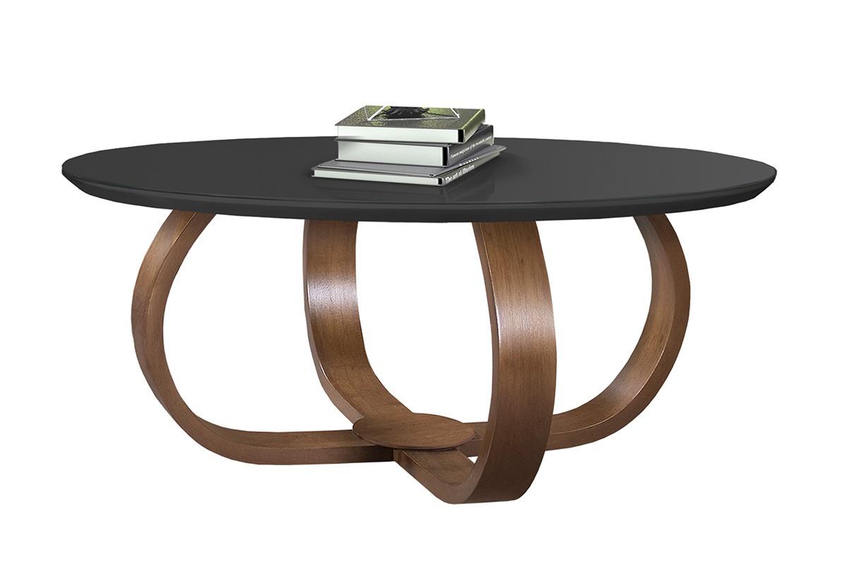 Mesa de Centro Bella Preto 60 cm