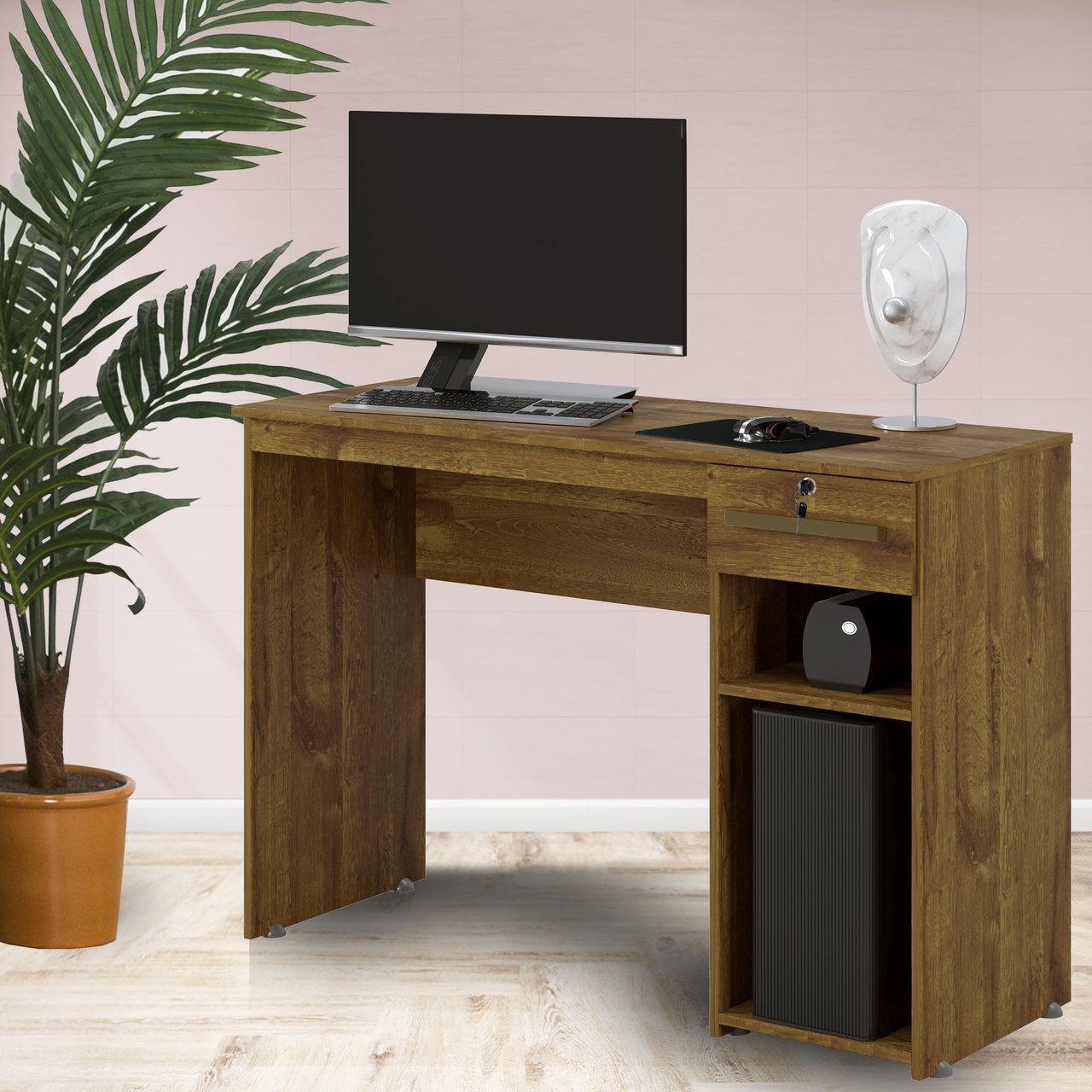 Mesa Escrivaninha Office Veneza Ypê