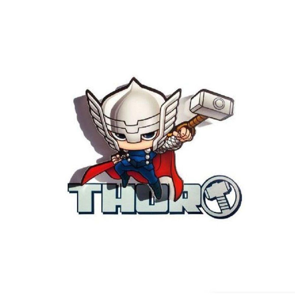 Mini Luminária 3D Marvel Thor