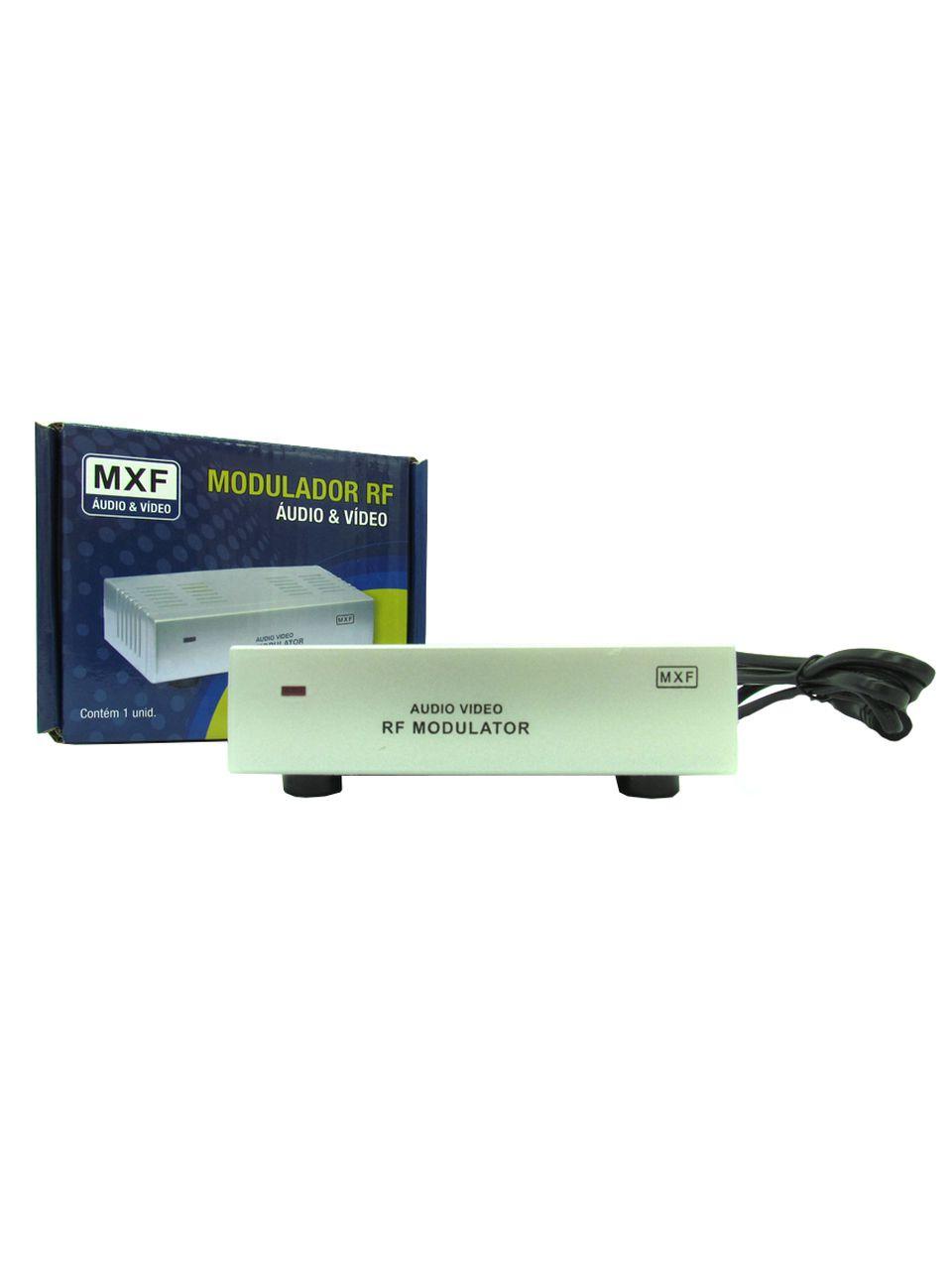 Mini Modulador Conversor RF para Áudio e Vídeo