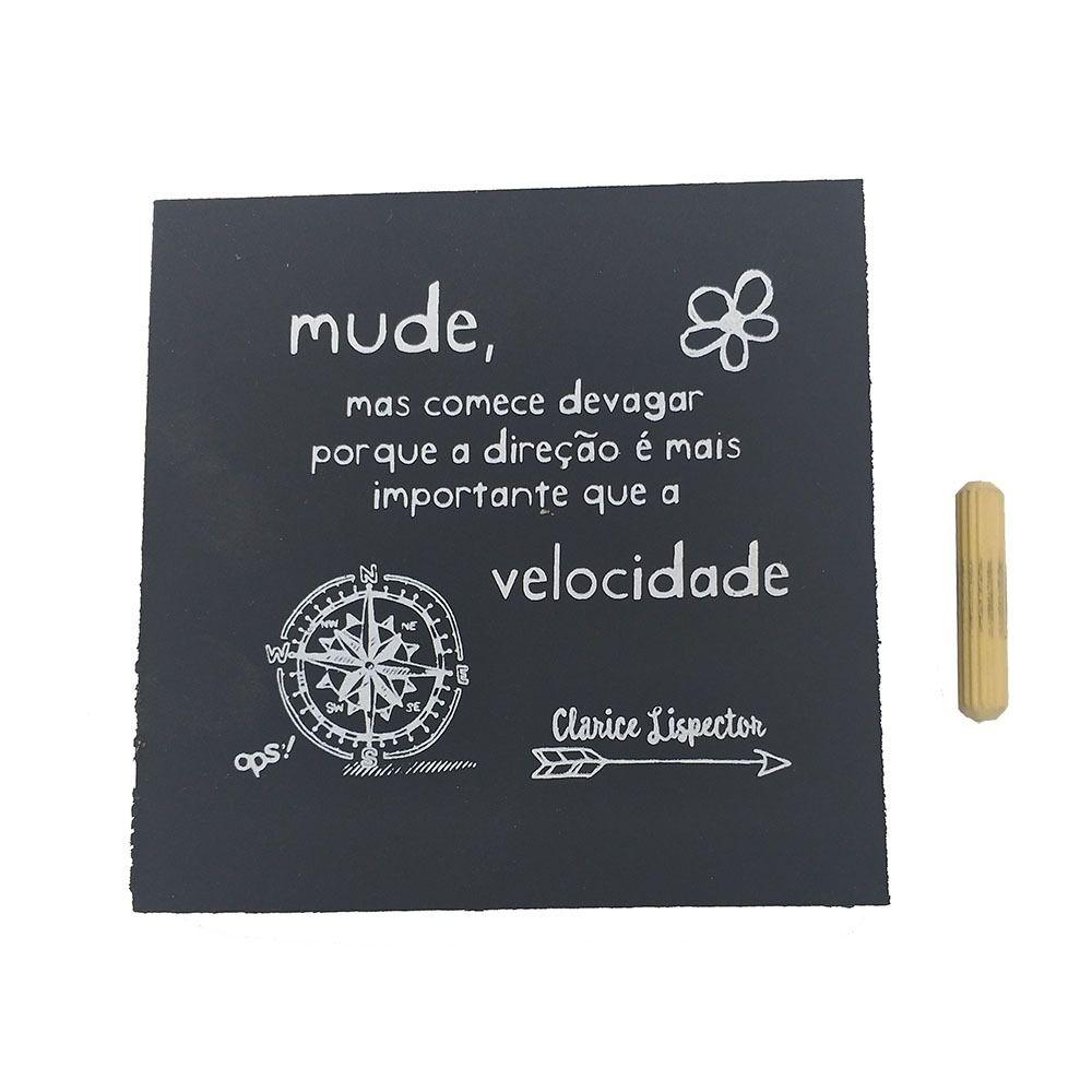 Mini Quadro Decorativo Mude 12x12 cm